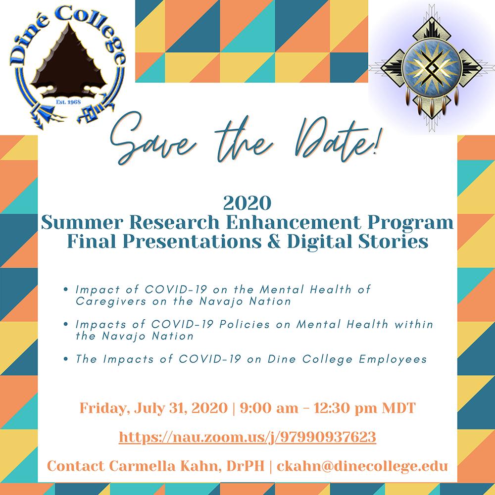 SREP Final Presentations and Digital Stories